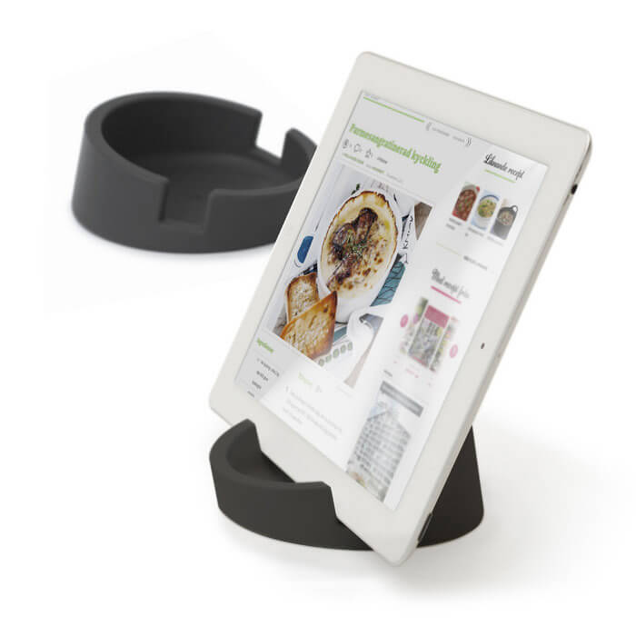 Bosign® CookBook Kitchen Tablet Stand – Graphite Gray