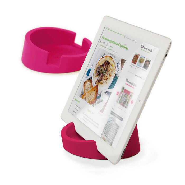 Bosign® CookBook Kitchen Tablet Stand – Pink