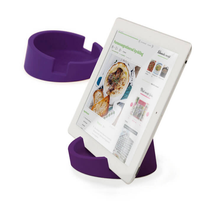 Bosign® CookBook Kitchen Tablet Stand – Purple