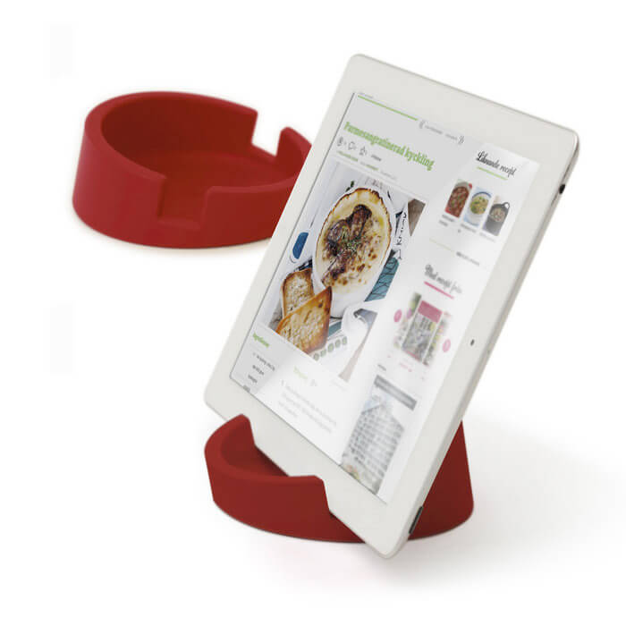 Bosign® CookBook Kitchen Tablet Stand – Red