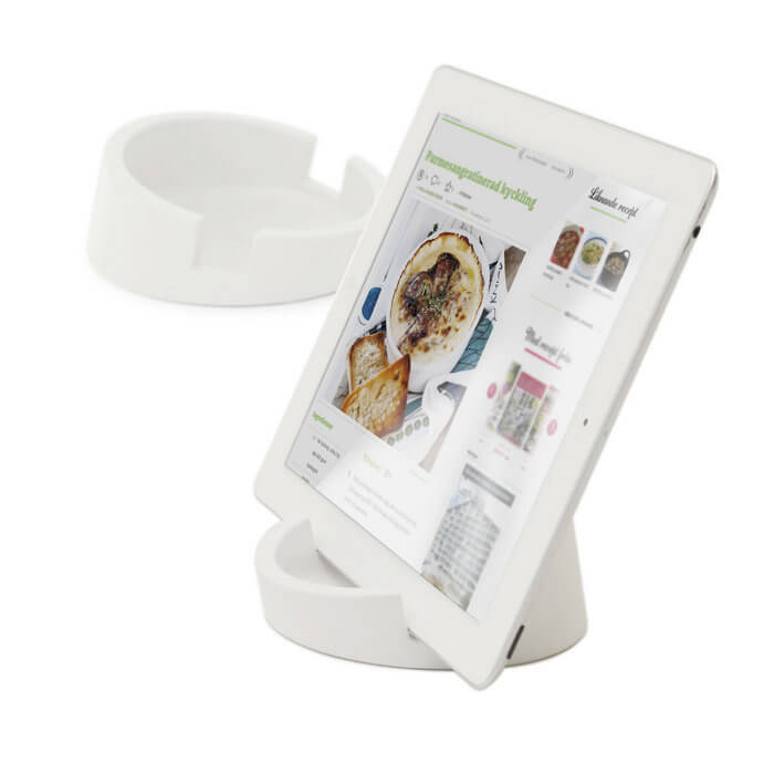 Bosign® CookBook Kitchen Tablet Stand – White
