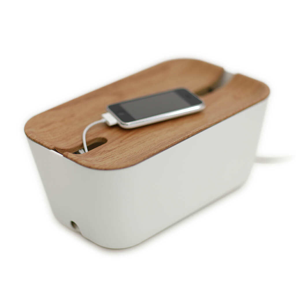 Bosign® Hideaway™ Cable Organiser - Natural / White