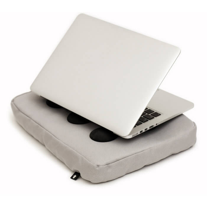 Bosign® Surf Pillow Hitech Laptop Cooler – Silver