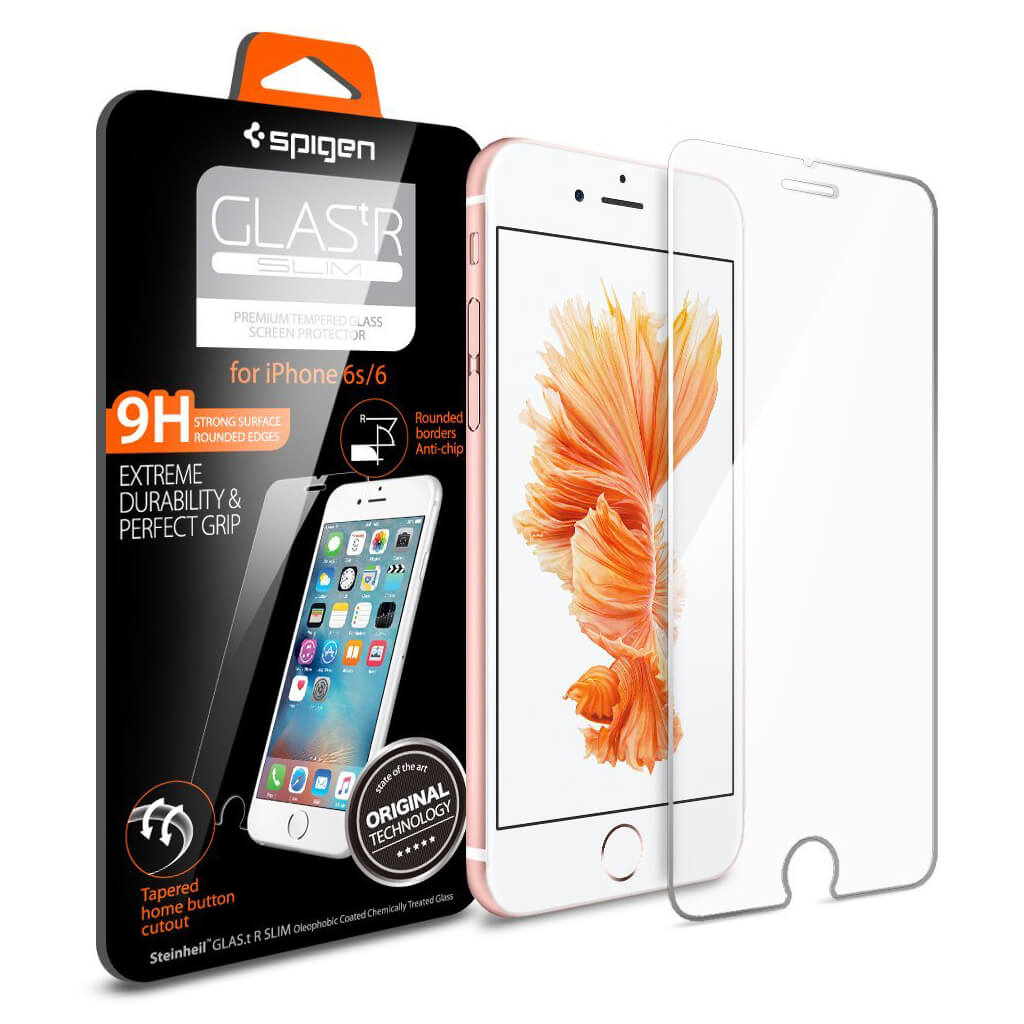 Spigen® Glas.tr Slim SGP11588 iPhone 6s/6 Premium Real Glass