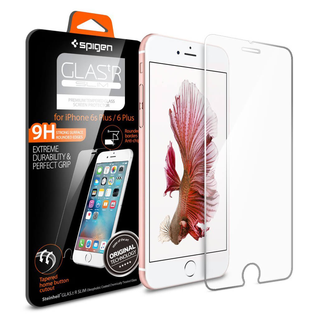 Spigen® Glas.tr Slim SGP11634 iPhone 6s Plus/6 Plus Premium Real Glass