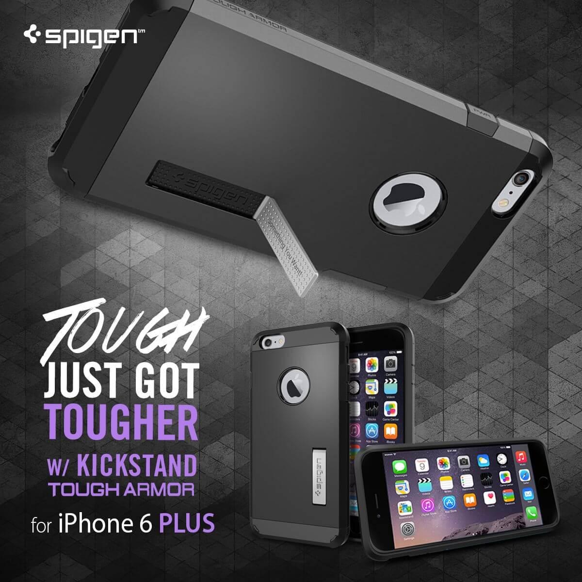 Spigen® Tough Armor iPhone 6s Plus/6 Plus Case