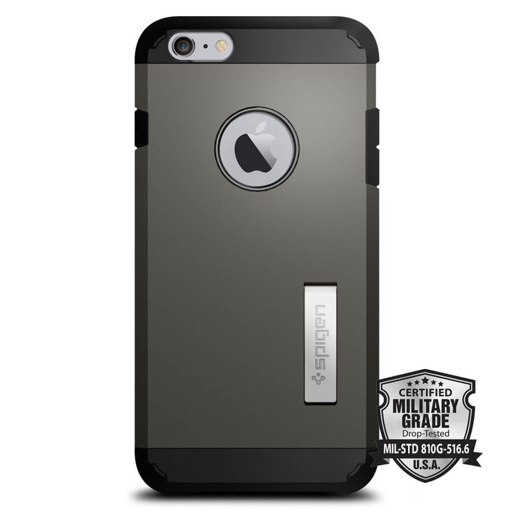 Spigen® Tough Armor SGP11658 iPhone 6s Plus/6 Plus Case – Gunmetal