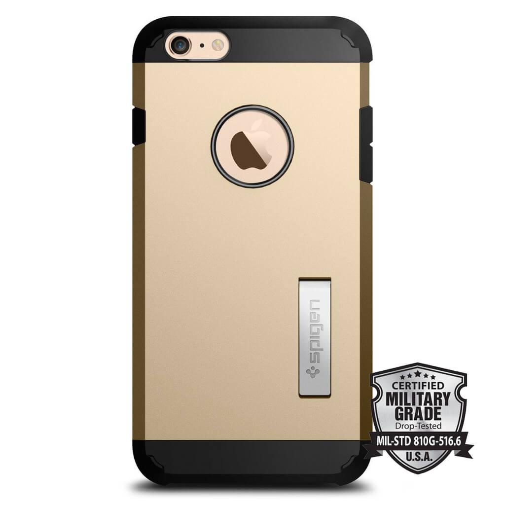 spigen tough armor iphone 6s plus 6 plus case champagne gold Remove Moving