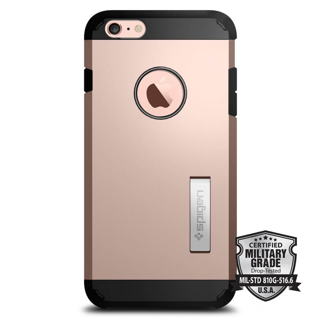 Spigen® Tough Armor SGP11750 iPhone 6s Plus/6 Plus Case – Rose Gold