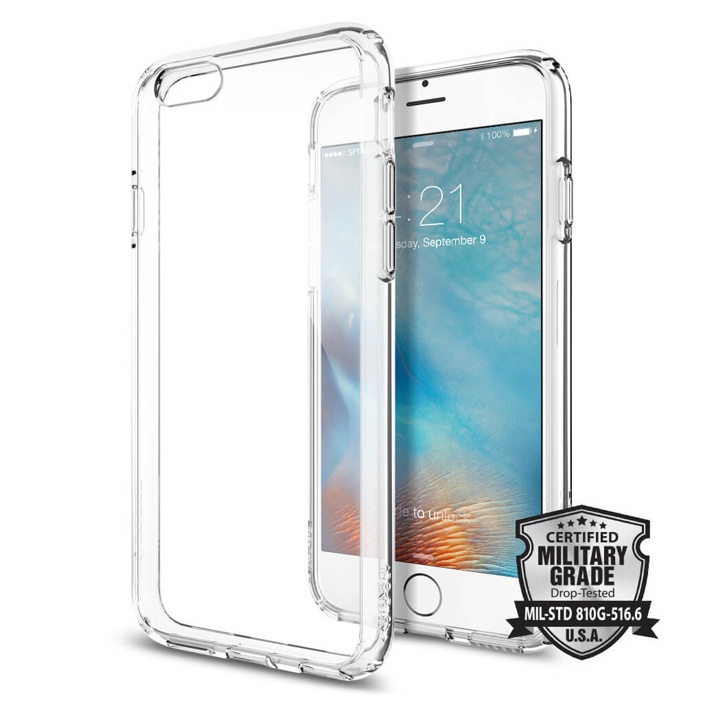 Spigen® Ultra Hybrid SGP11598 iPhone 6s/6 Case - Crystal