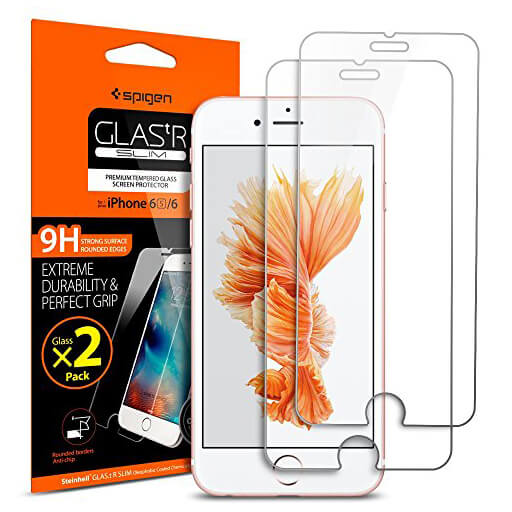 Spigen® Glas.tr Slim SGP11783 iPhone 6s/6 Premium Real Glass - 2Pack