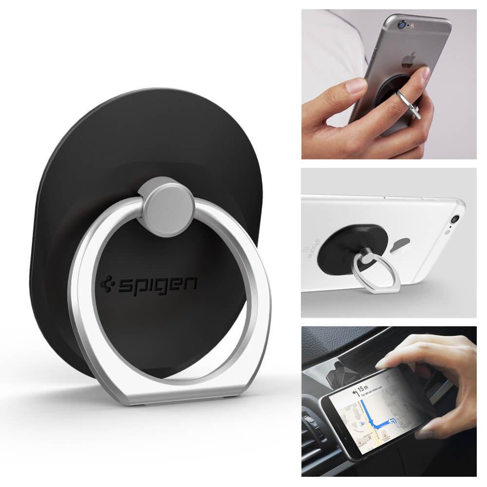 Spigen® Style Ring SGP11845 Car Mount Holder – Black
