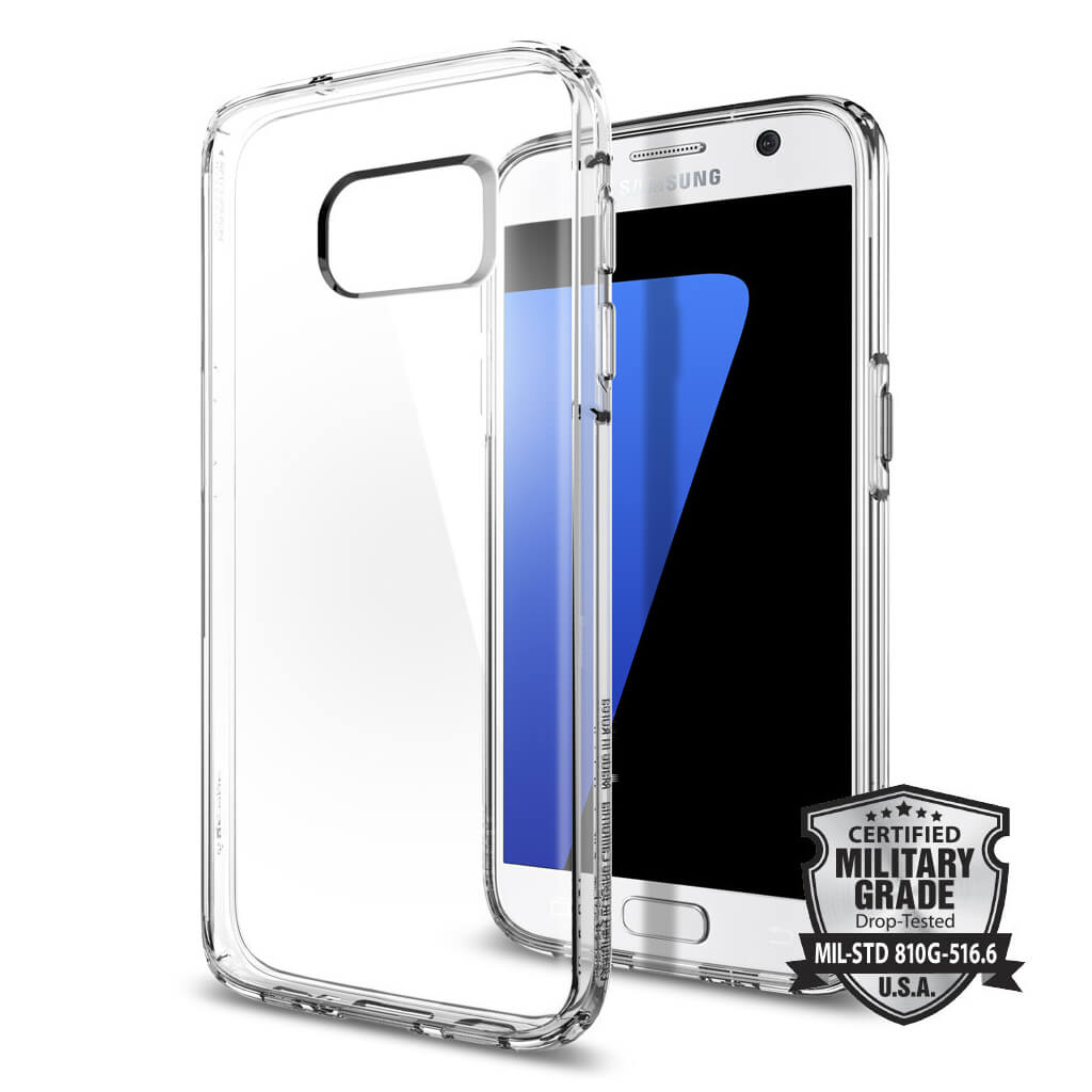 Spigen® Ultra Hybrid SGP 555CS20008 Samsung Galaxy S7 Case – Crystal
