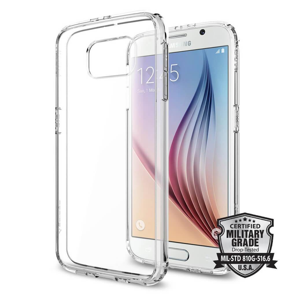 Spigen® Ultra Hybrid SGP11317 Samsung Galaxy S6 Case – Crystal