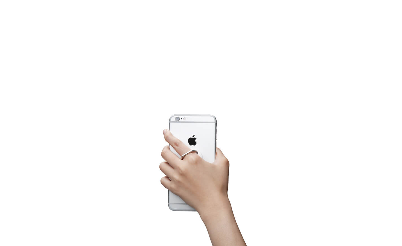 Spigen® Style Ring SGP11760 Car Mount Holder – White