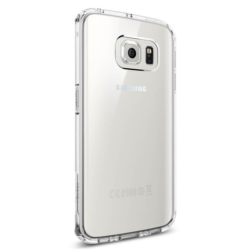 spigen ultra hybrid samsung galaxy s6 edge case crystal clear have speedran