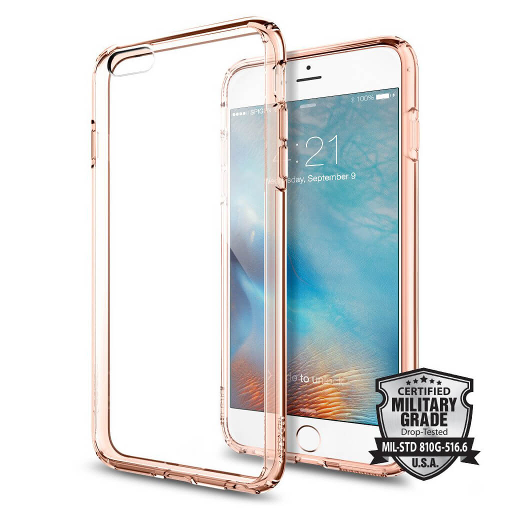 Spigen® Ultra Hybrid SGP11726 iPhone 6s Plus/6 Plus Case - Rose Crystal