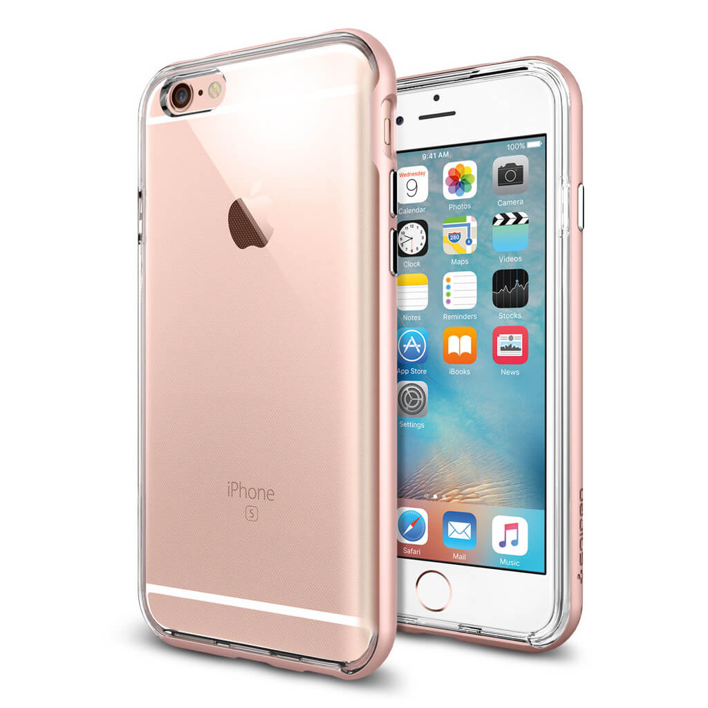 Spigen® Neo Hybrid EX SGP11725 iPhone 6s/6 Case – Rose Gold