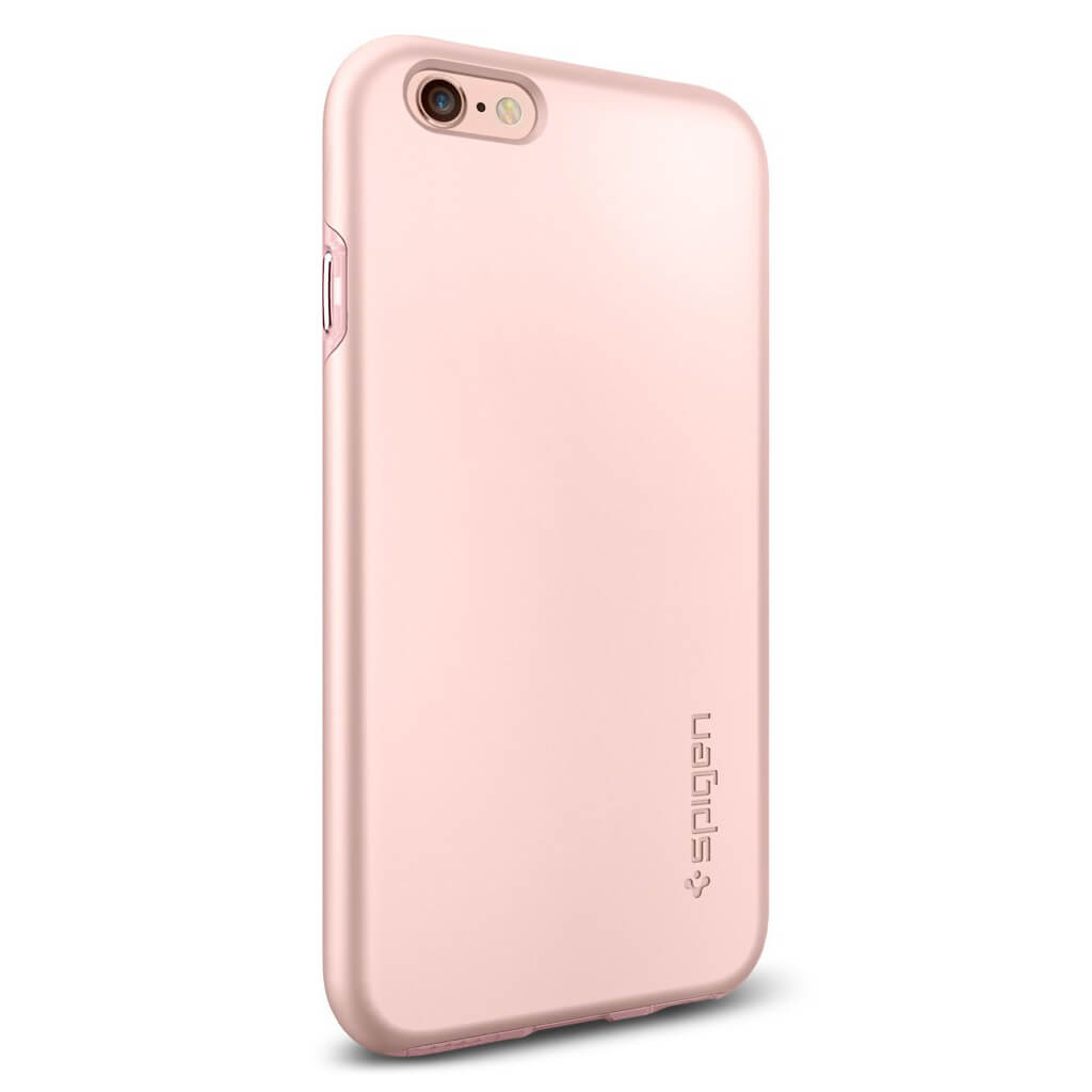 spigen thin fit hybrid sgp11781 iphone 6 6s case rose gold spaceboy. Black Bedroom Furniture Sets. Home Design Ideas