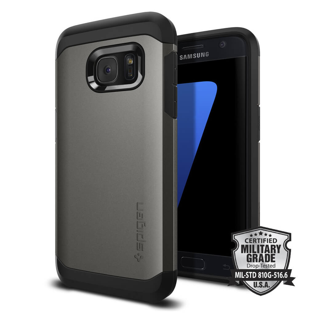 Spigen® Tough Armor SGP 555CS20018 Samsung Galaxy S7 Case – Gunmetal