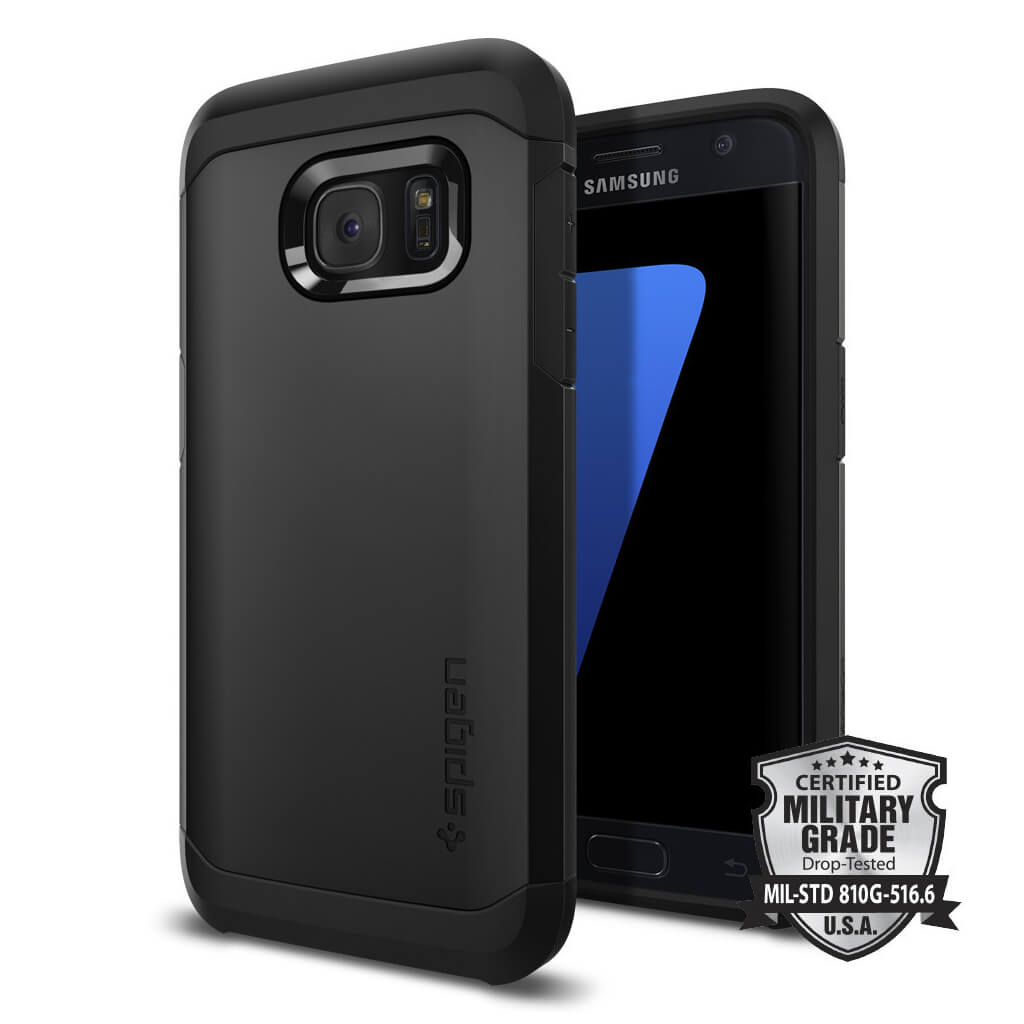 Spigen® Tough Armor SGP 555CS20020 Samsung Galaxy S7 Case – Black