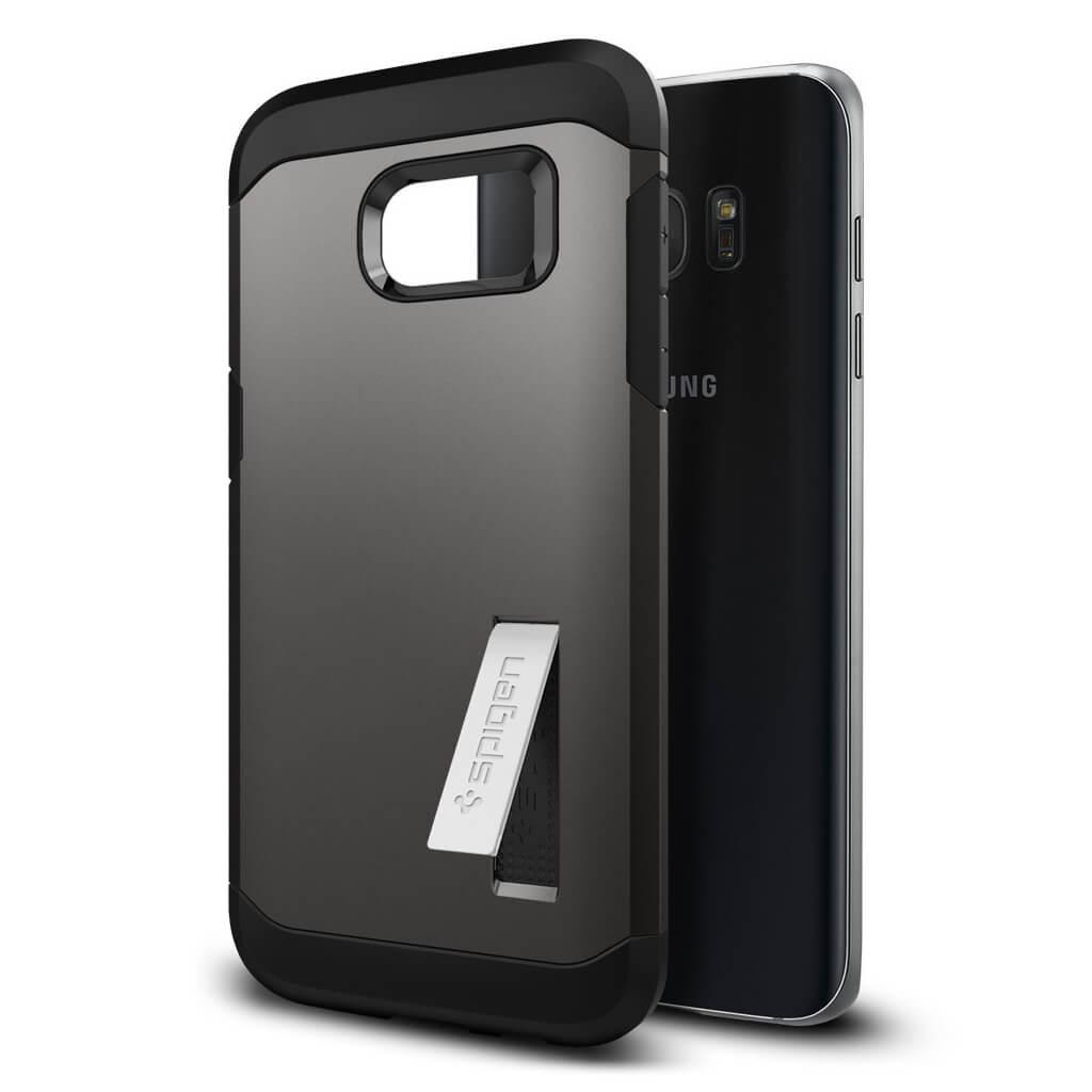 Spigen® Tough Armor SGP 556CS20043 Samsung Galaxy S7 Edge Case – Gunmetal