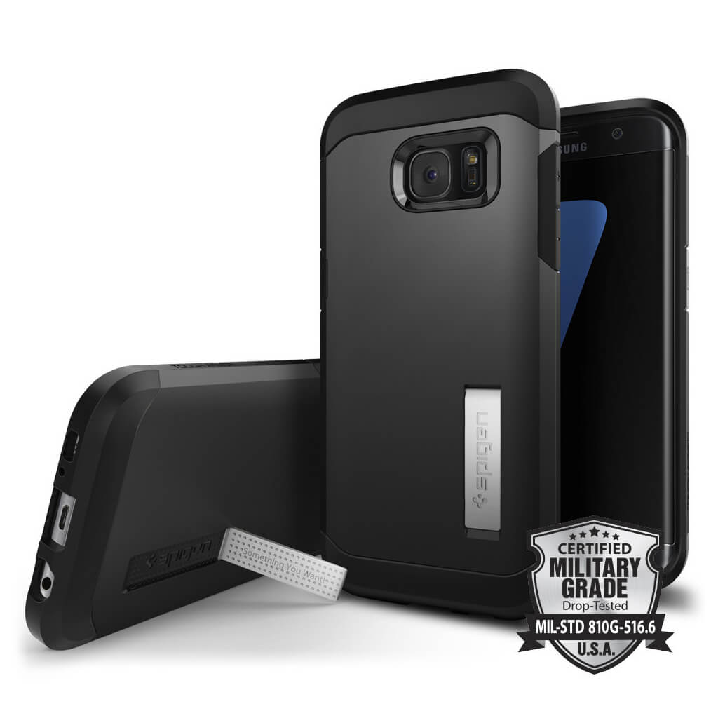 Spigen® Tough Armor SGP 556CS20045 Samsung Galaxy S7 Edge Case – Black