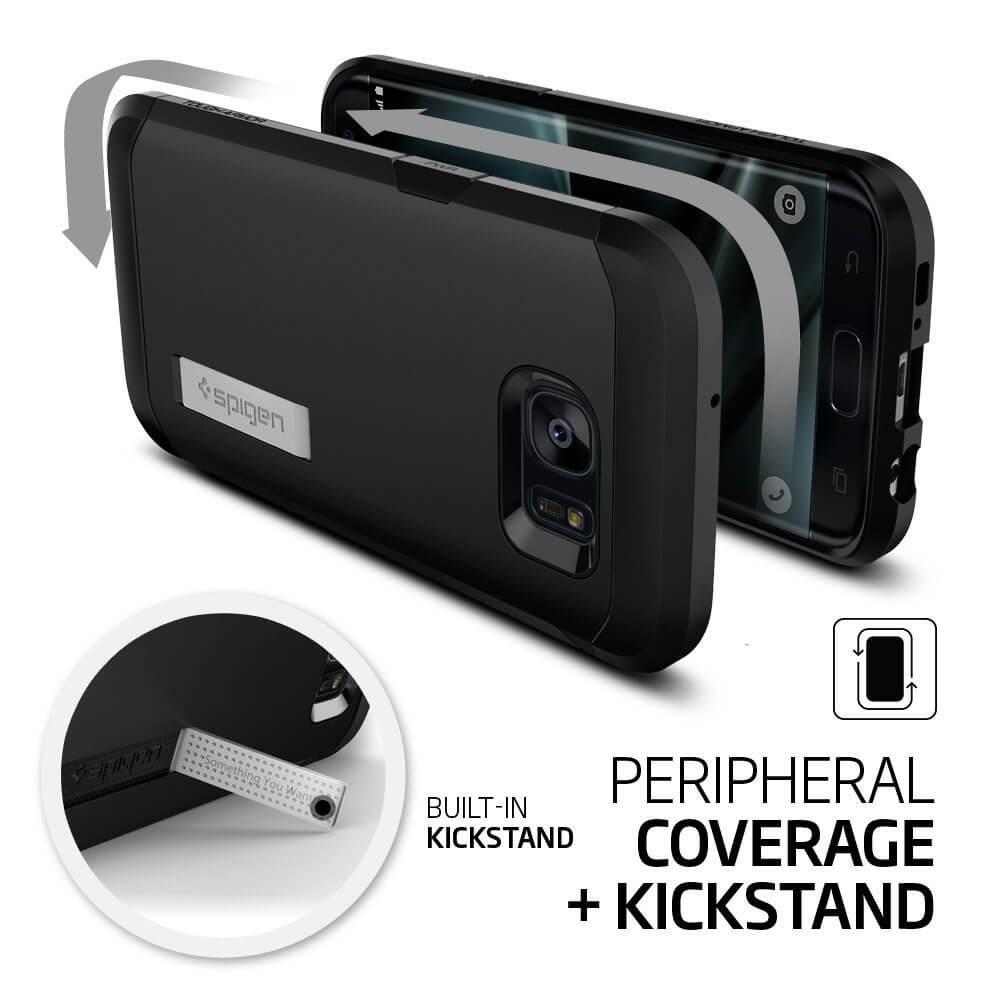 Spigen® Tough Armor SGP 556CS20045 Samsung Galaxy S7 Edge Case – Black