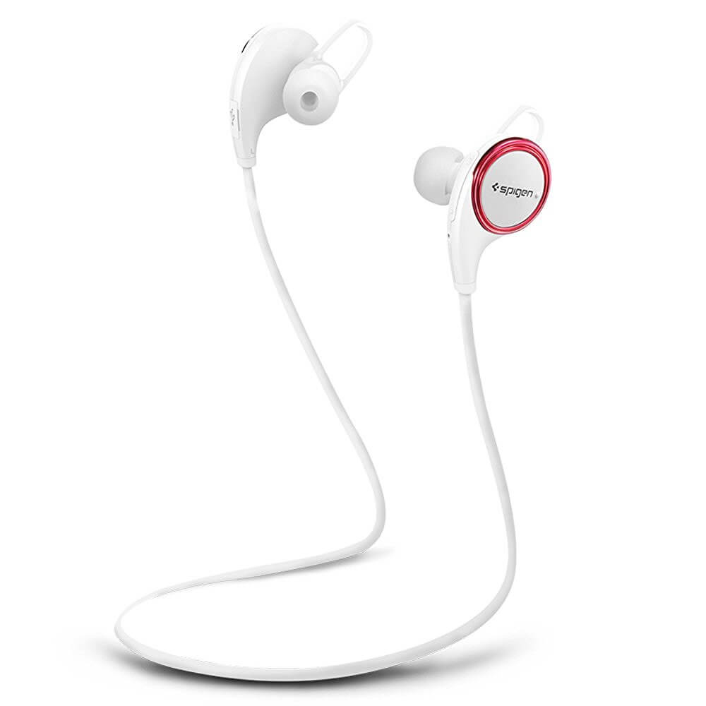 Spigen® R12E Essential™ SGP11842 Bluetooth Headphones – White