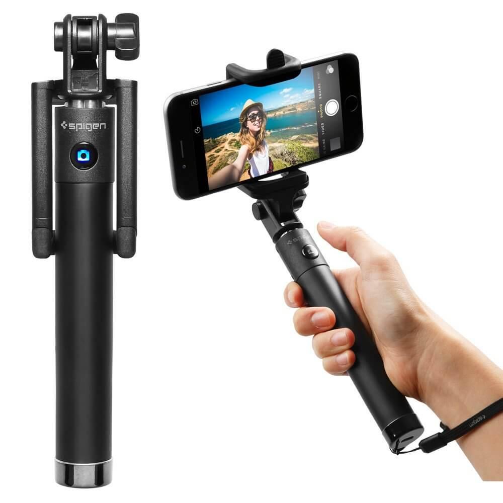 Spigen® S520™ SGP11721 Bluetooth Selfie Stick