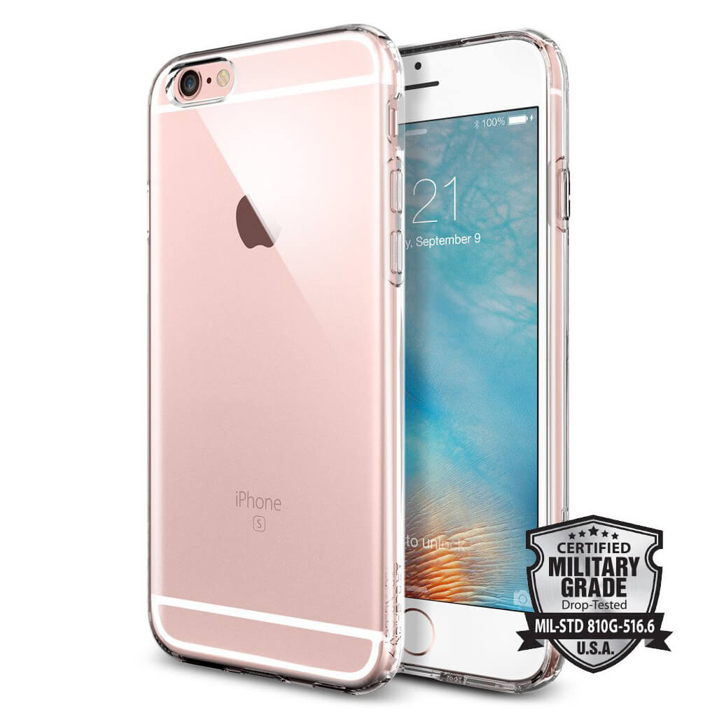 Spigen® Capsule Liquid Armor™ SGP11753 iPhone 6s/6 Case - Crystal