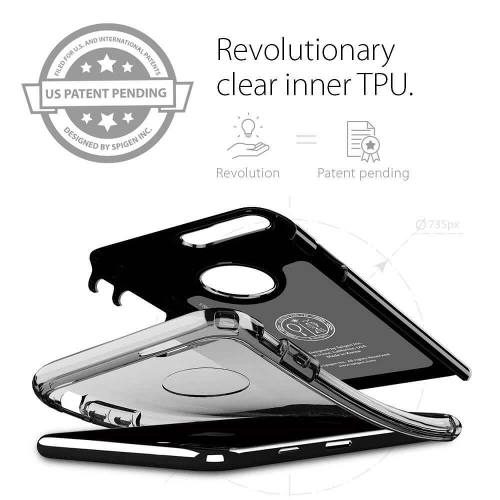 Spigen® Hybrid Armor™ SGP 043CS20849 iPhone 7 Plus Case - Jet Black
