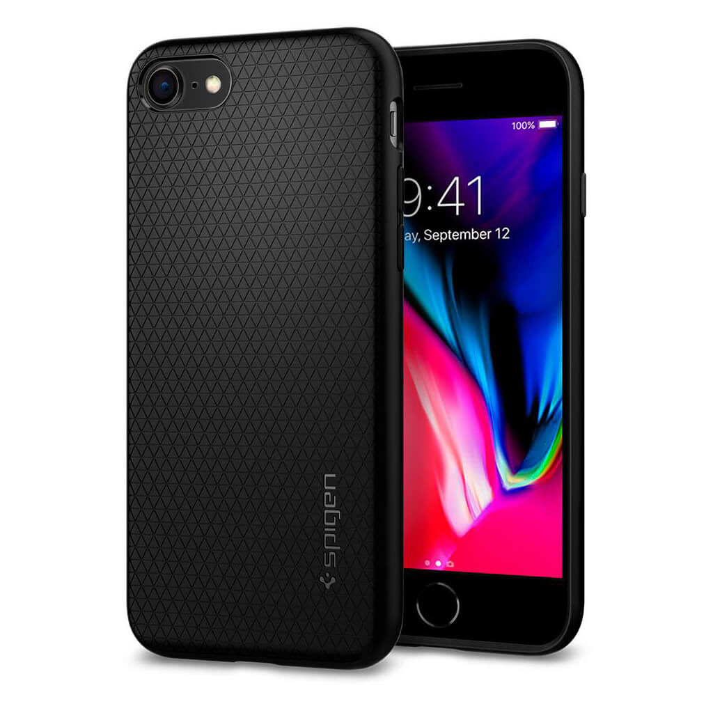 Spigen® Liquid Air Armor™ 042CS20511 iPhone 8 / 7 Case - Black