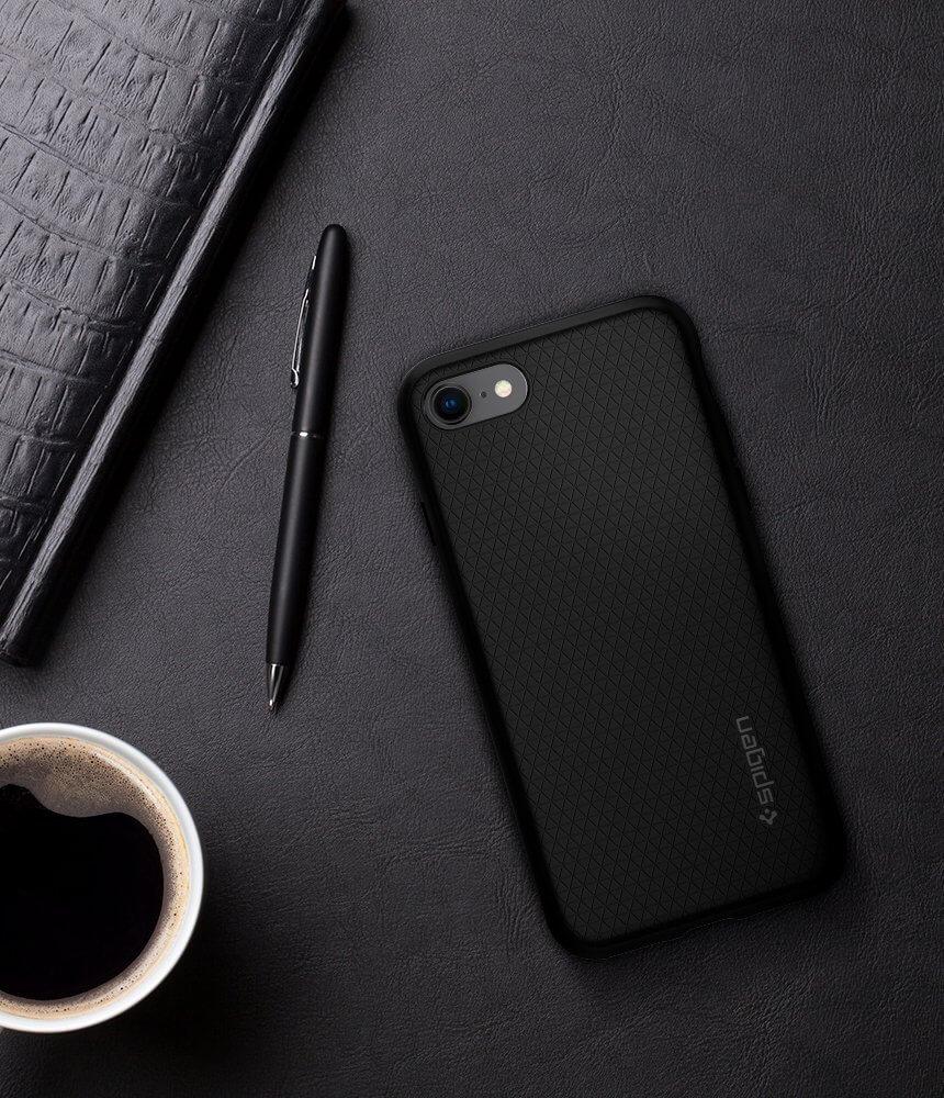 Spigen® Liquid Air Armor™ 042CS20511 iPhone 8 / 7 Case - Black