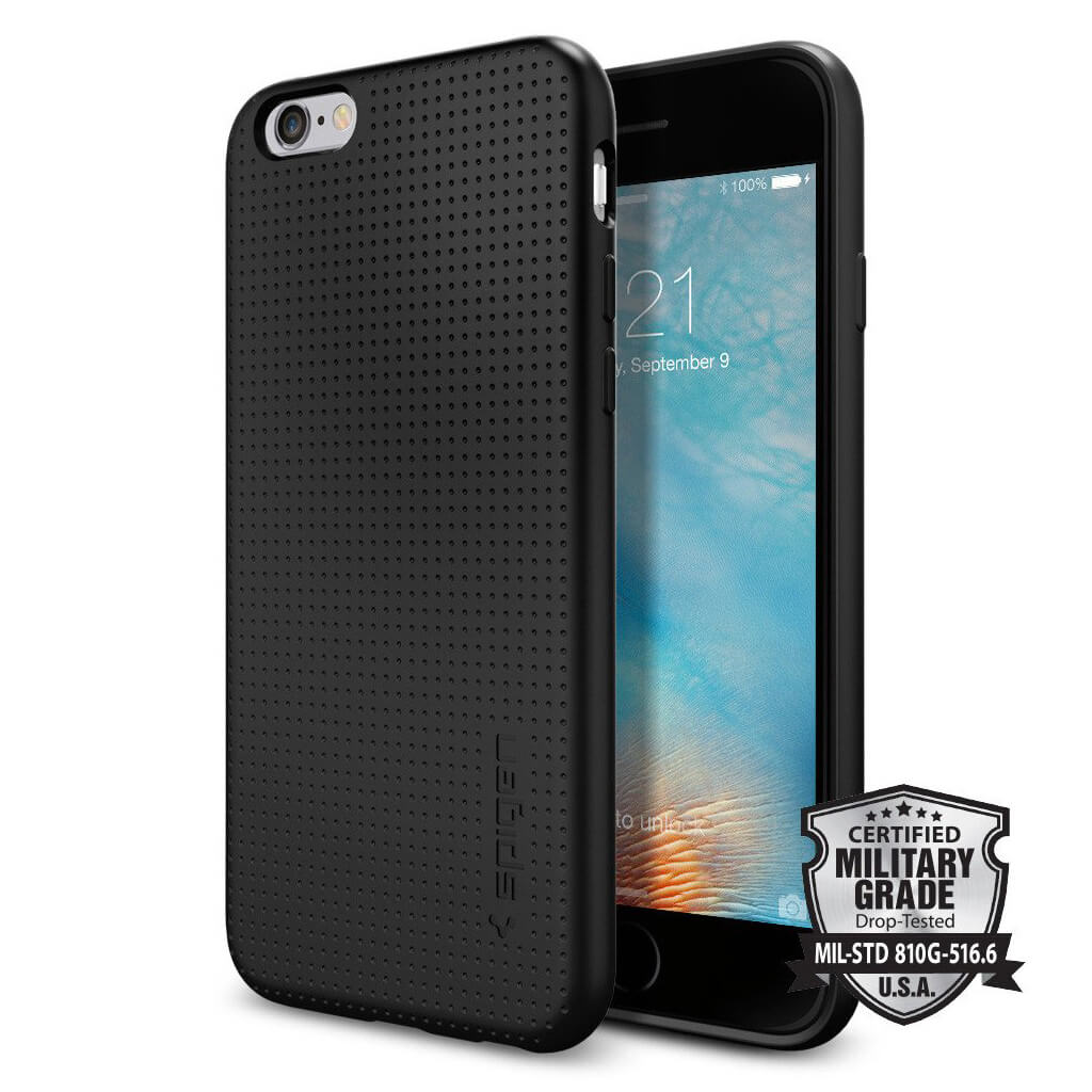 spigen liquid air armor sgp11751 iphone 6 6s case black spaceboy. Black Bedroom Furniture Sets. Home Design Ideas