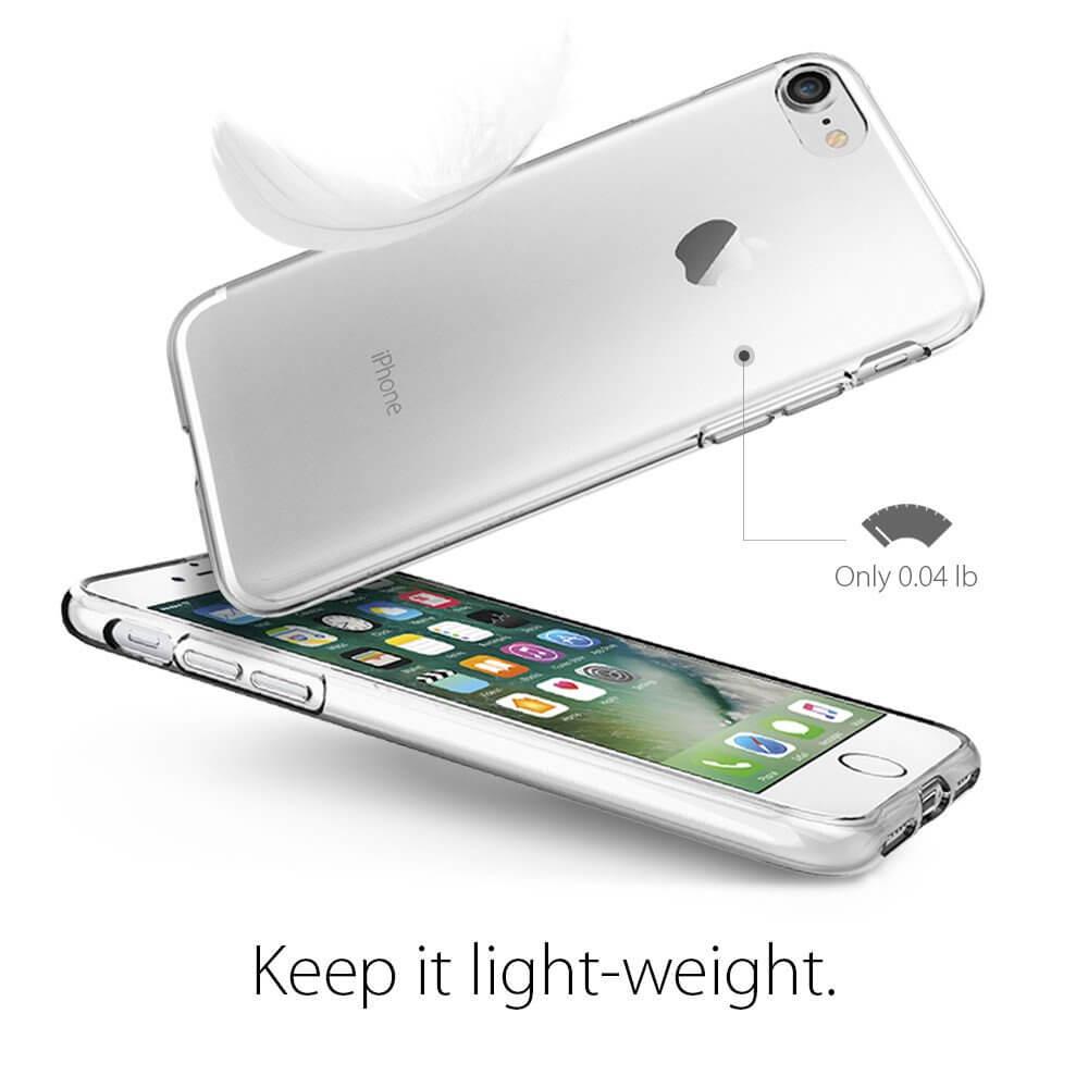 spigen liquid crystal 042cs20435 iphone 7 case crystal. Black Bedroom Furniture Sets. Home Design Ideas