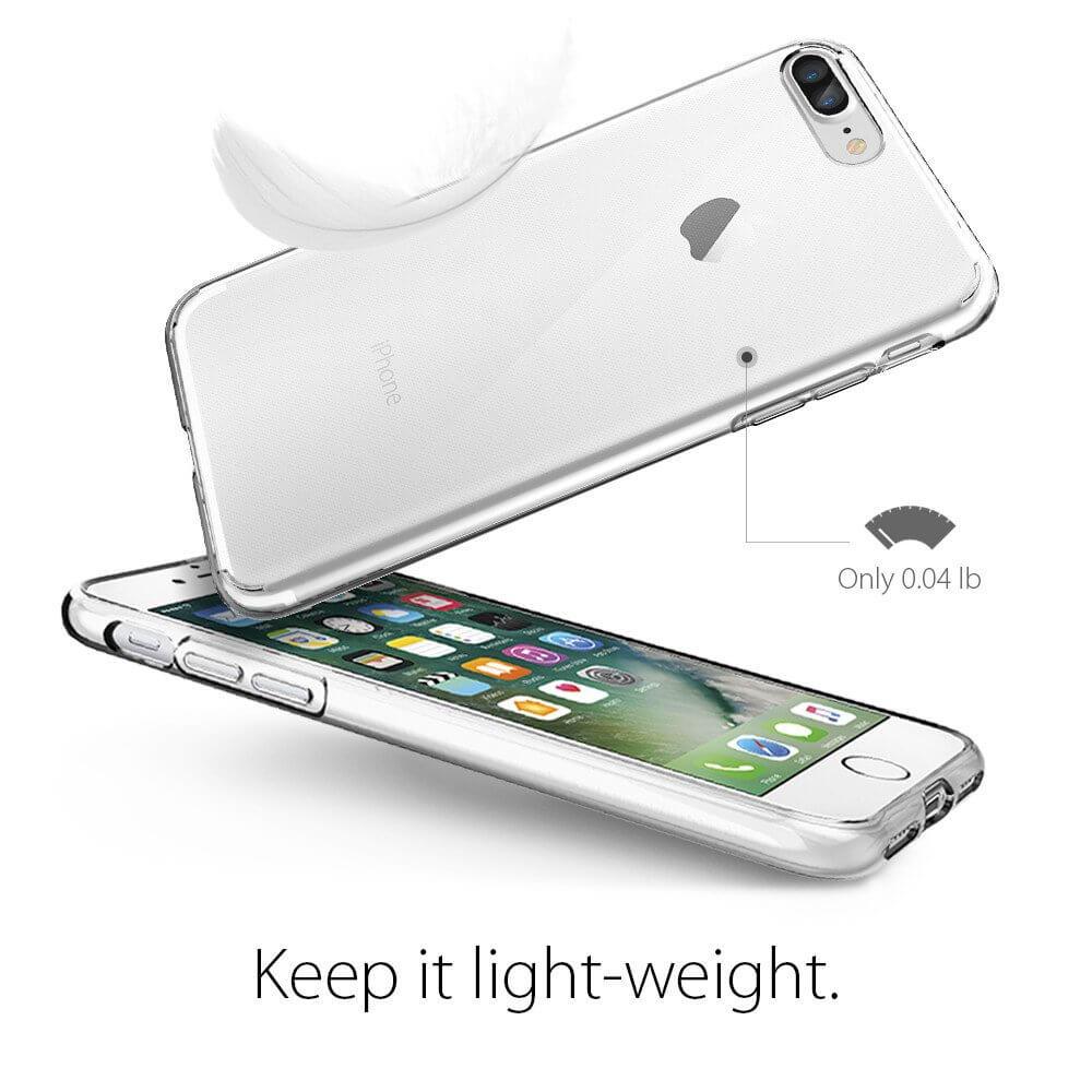 Spigen® Liquid Crystal™ SGP 043CS20479 iPhone 7 Plus Case - Crystal Clear