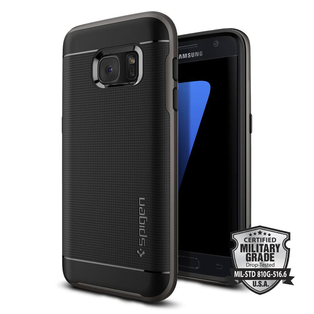 Spigen® Neo Hybrid™ SGP 555CS20141 Samsung Galaxy S7 Case - Gunmetal