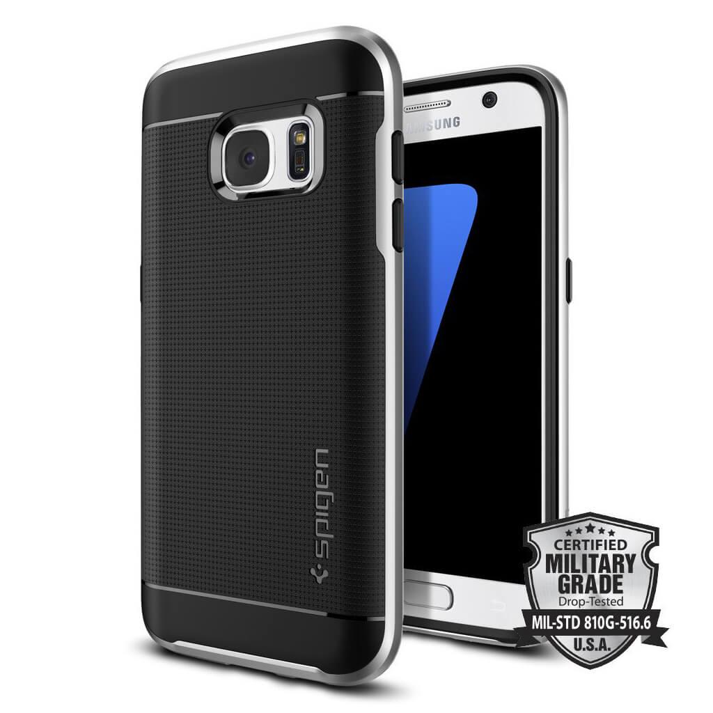 Spigen® Neo Hybrid™ 555CS20142 Samsung Galaxy S7 Case - Satin Silver