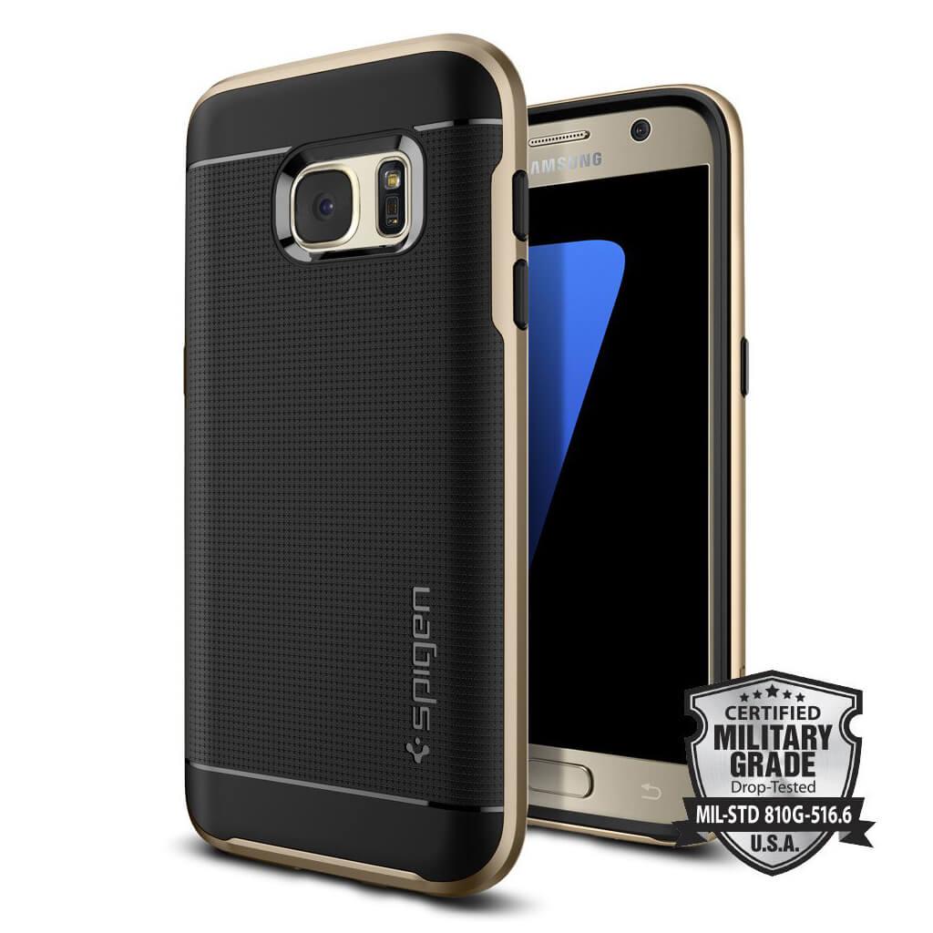 Spigen® Neo Hybrid™ 555CS20202 Samsung Galaxy S7 Case - Champagne Gold