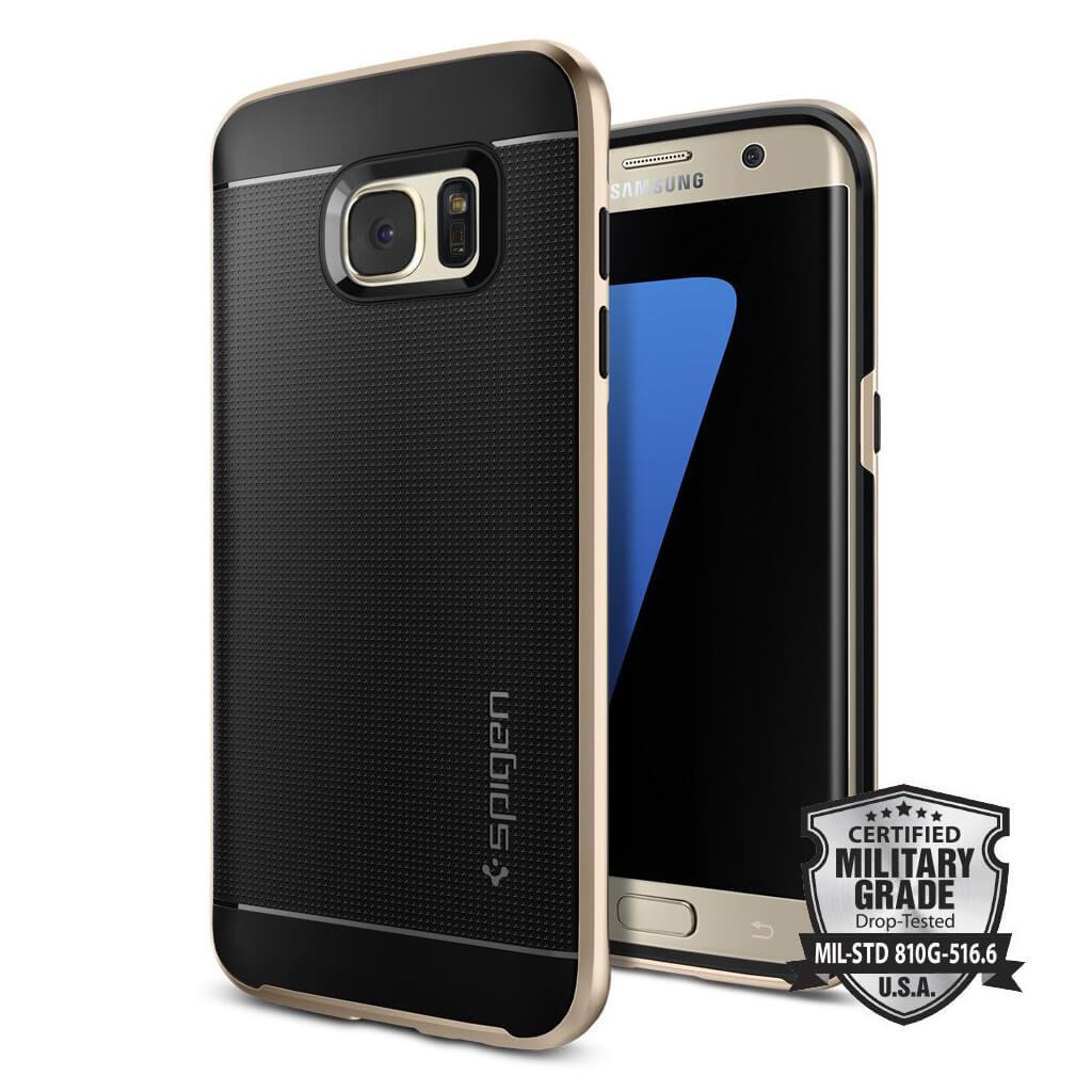 Spigen® Neo Hybrid™ SGP 556CS20203 Samsung Galaxy S7 Edge Case - Champagne Gold