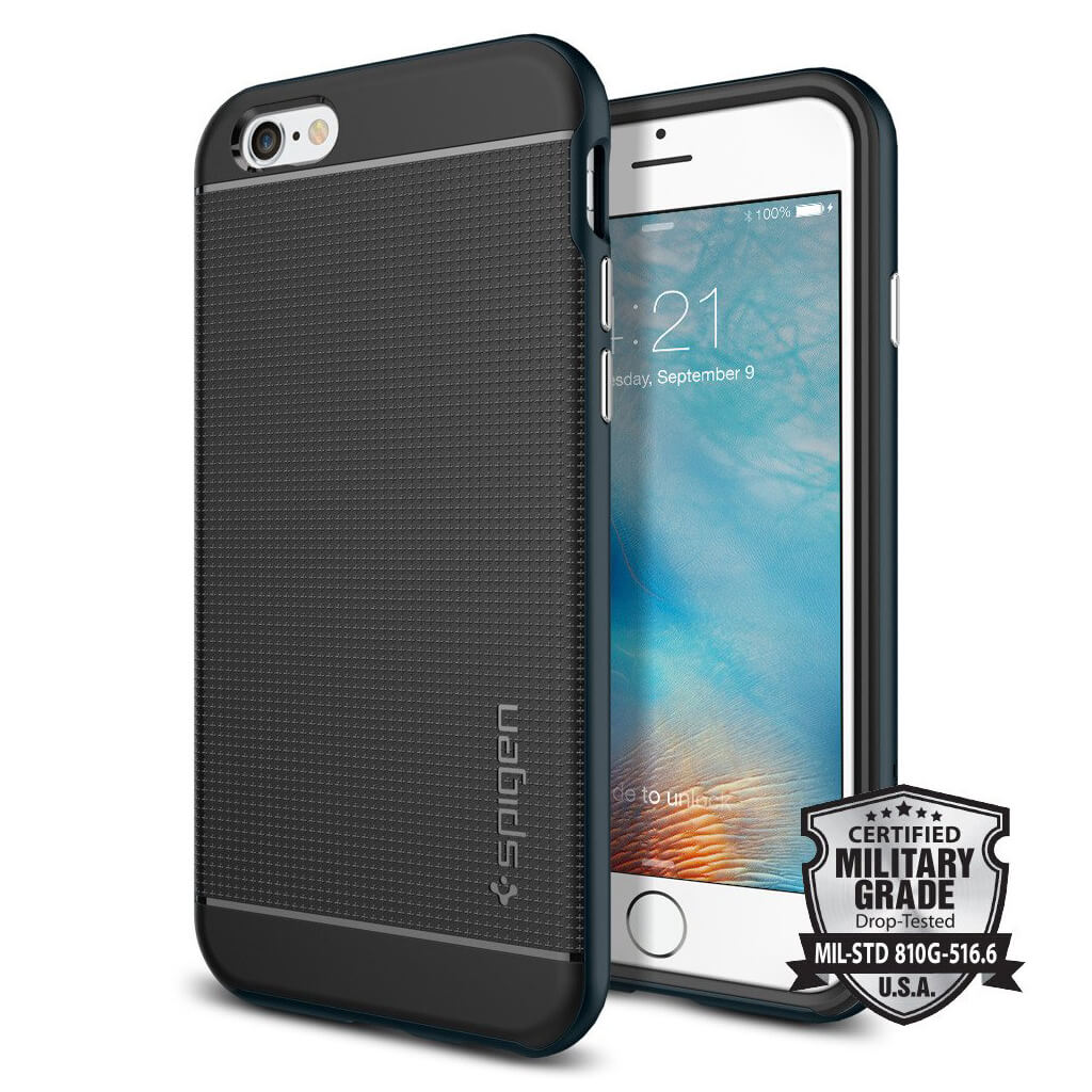 Spigen® Neo Hybrid™ SGP11619 iPhone 6s/6 Case - Metal Slate