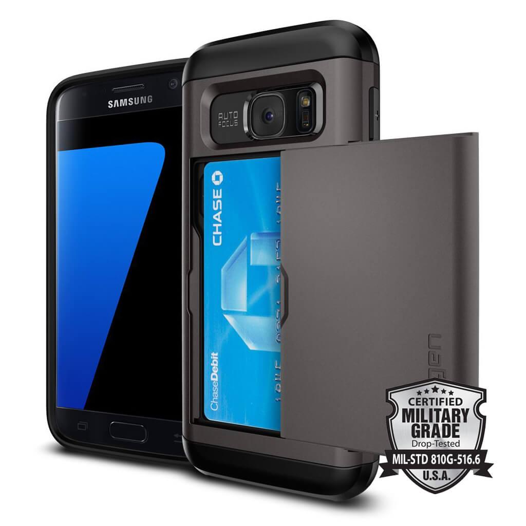 Spigen® Slim Armor™ CS SGP 555CS20016 Samsung Galaxy S7 Case - Gunmetal