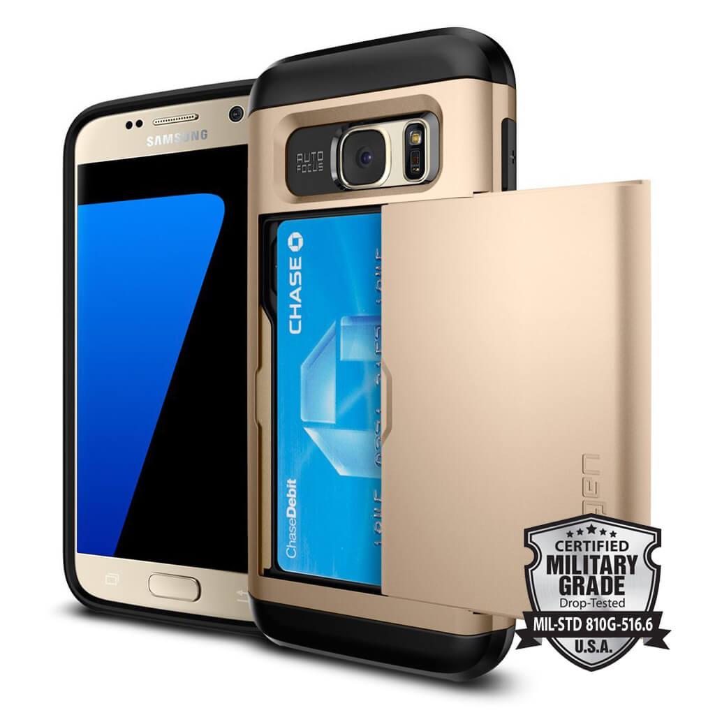 Spigen® Slim Armor™ CS SGP 555CS20017 Samsung Galaxy S7 Case - Champagne Gold