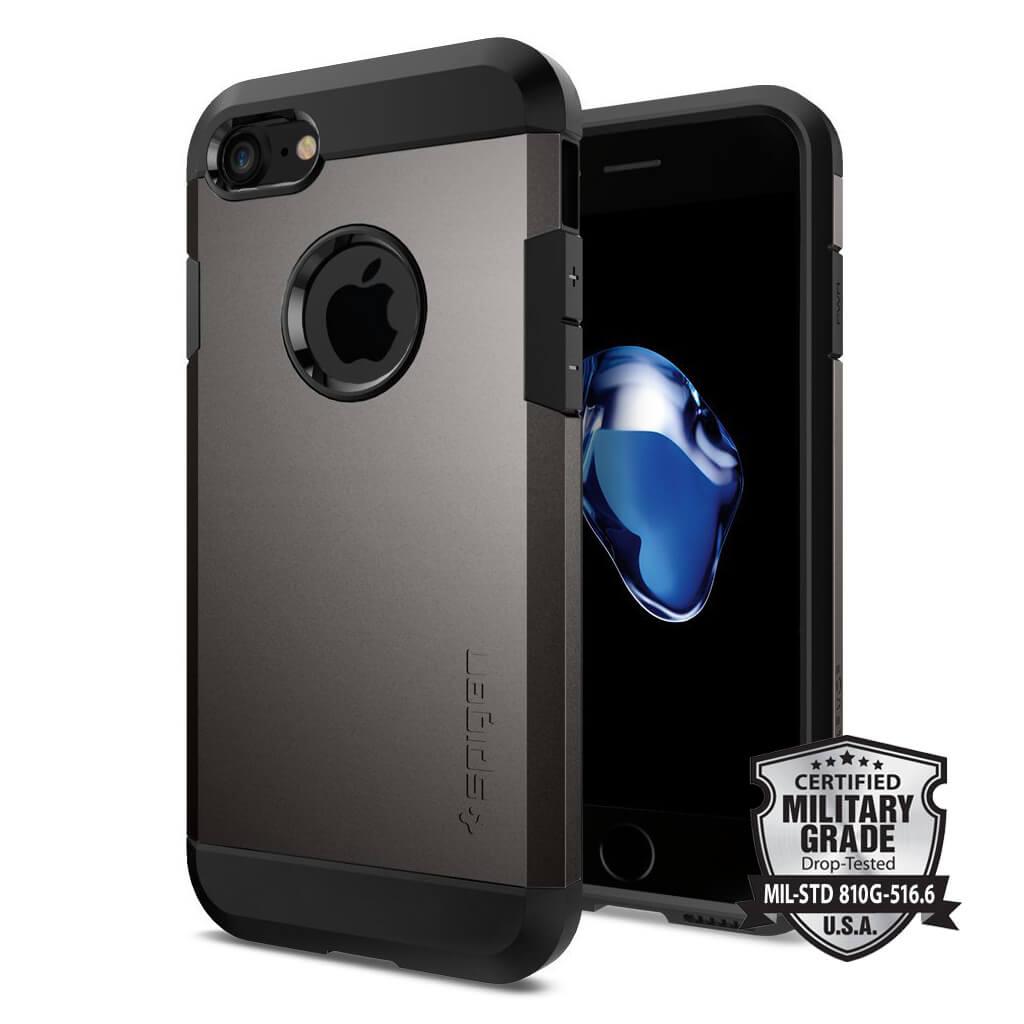 Spigen® Tough Armor™ SGP 042CS20489 iPhone 7 Case - Gunmetal