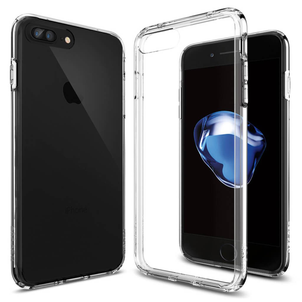 Spigen® Ultra Hybrid™ 043CS20547 iPhone 7 Plus Case - Crystal Clear