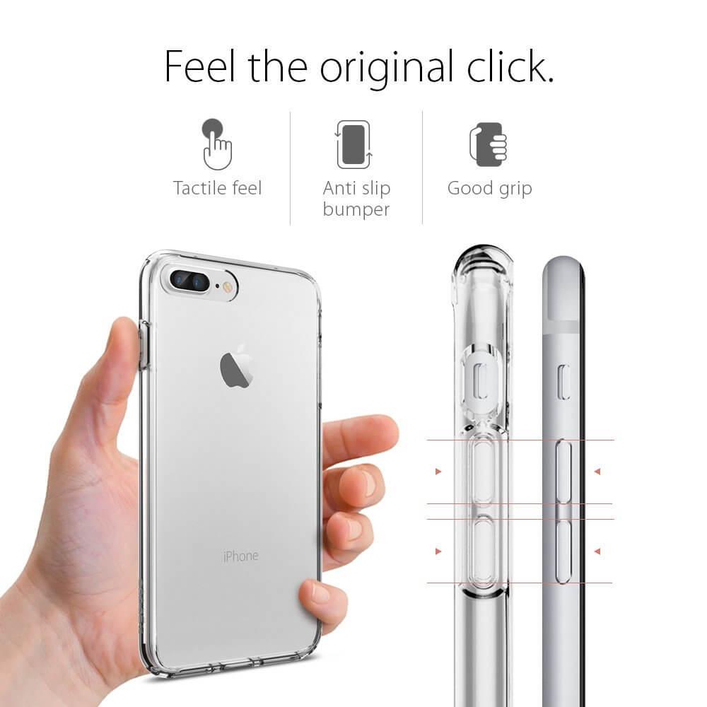 Spigen® Ultra Hybrid™ SGP 043CS20547 iPhone 7 Plus Case - Crystal