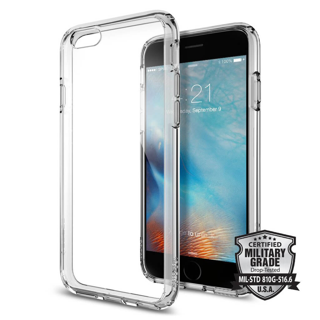 Spigen® Ultra Hybrid™ SGP11599 iPhone 6s/6 Case - Space Crystal