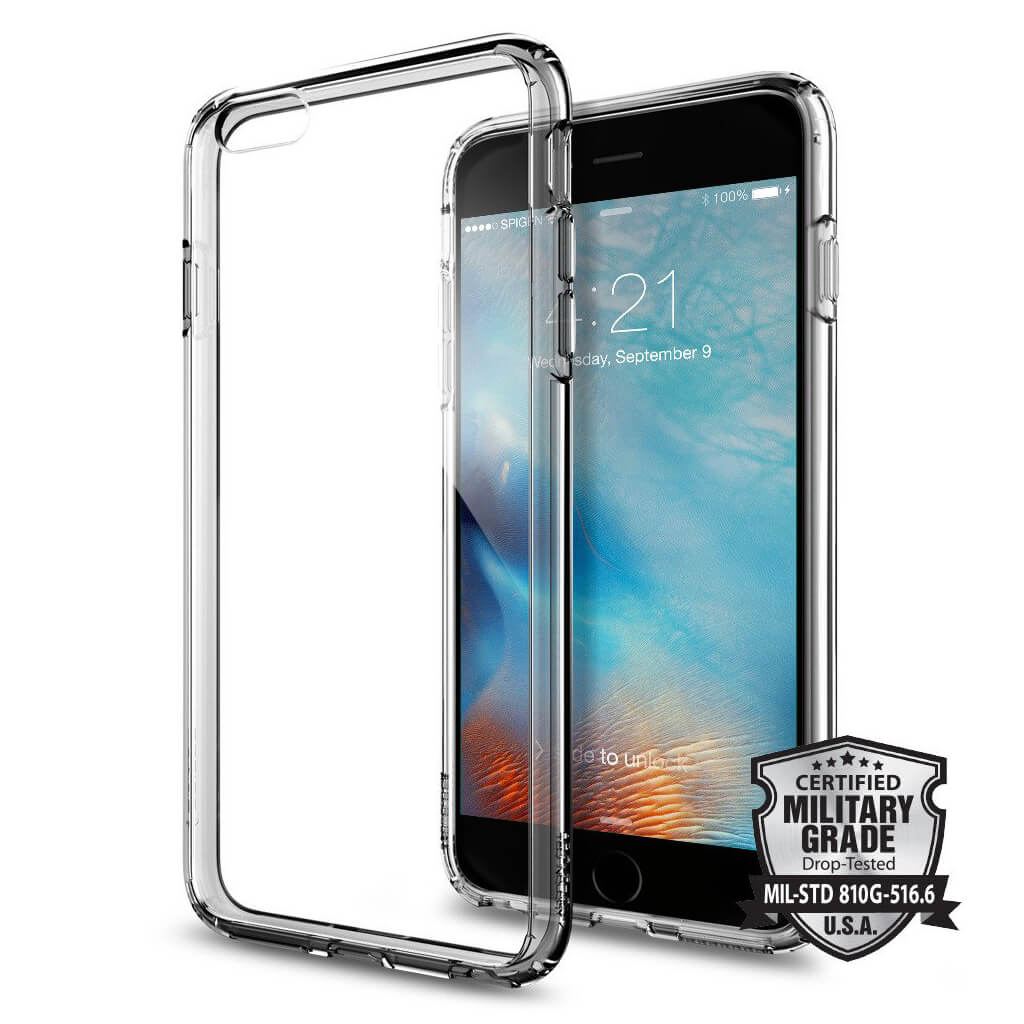 Spigen® Ultra Hybrid™ SGP11645 iPhone 6s Plus/6 Plus Case - Space Crystal