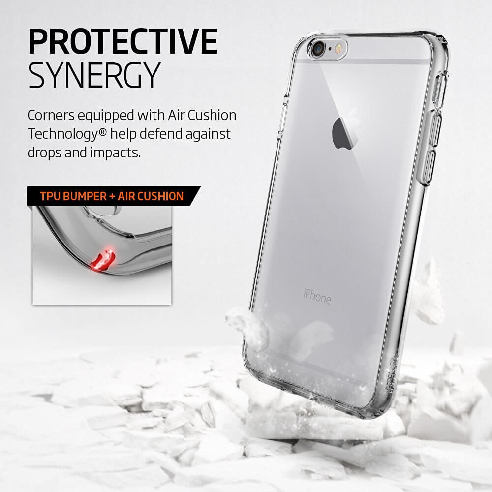 Spigen® Ultra Hybrid™ SGP11645 iPhone 6 Plus / 6s Plus Case - Space Crystal